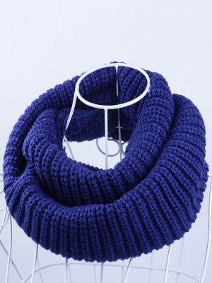 Bufanda tricotada al aire libre de Chunky Infinity