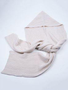 outdoor h keln kapuzen langer schal beige weis scarves. Black Bedroom Furniture Sets. Home Design Ideas