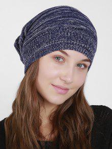 ميكسكولور حك قبعة قبعة صغيرة - ازرق غامق