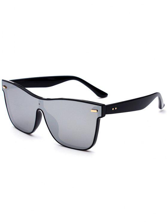 Outdoor Verbundene Rim Sonnenbrille - Silber