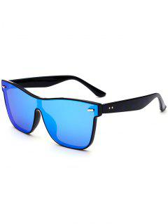 Outdoor Conjoined Rim Sunglasses - Blue