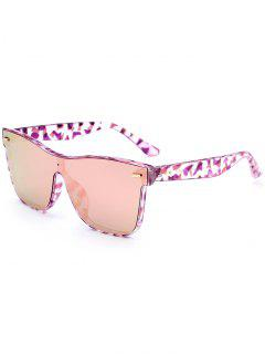 Outdoor Conjoined Rim Sunglasses - Pink