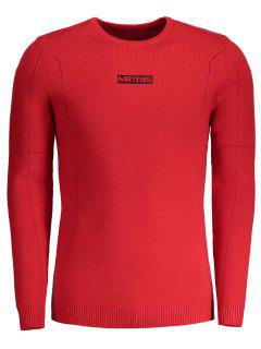 Mrters Graphic Sweater - Rouge 2xl