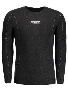Mrters Graphic Sweater - Deep Gray 2xl