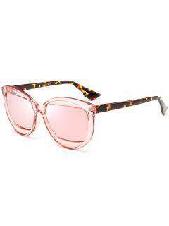 Eyebrow Cat Eye Sunglasses - Pink