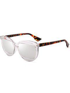 Gafas De Sol Eyebrow Cat Eye - Transparente