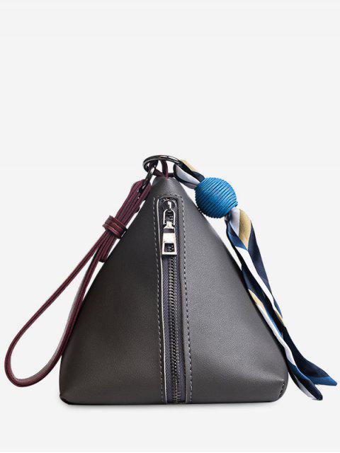Schal-Dreieck-Korn-Einkaufstasche - Dunkelgrau  Mobile