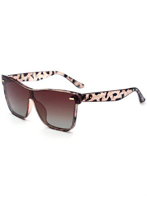 Outdoor Verbundene Rim Sonnenbrille - Dunkelbraun  Mobile