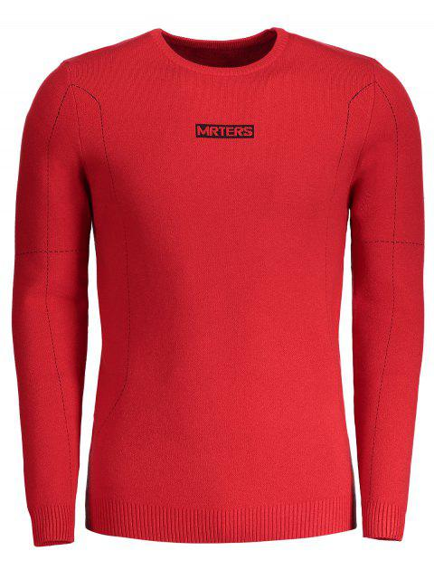 Mrters Graphic Sweater - Rot 3XL Mobile