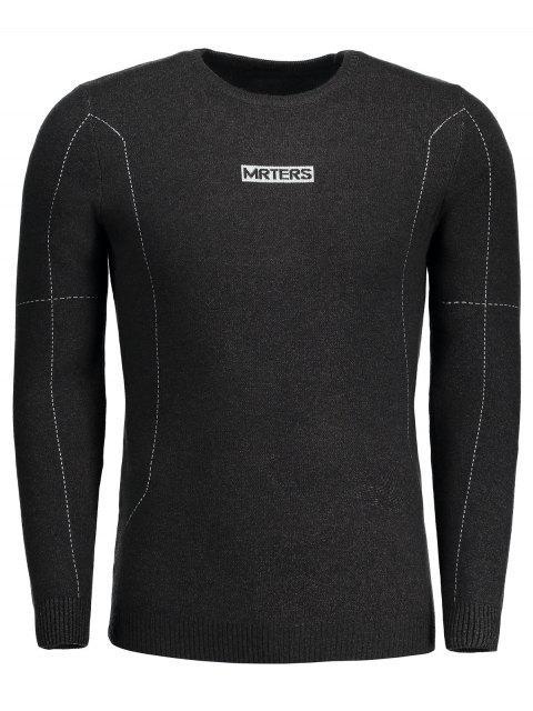 Mrters Graphic Sweater - Dunkelgrau 3XL Mobile