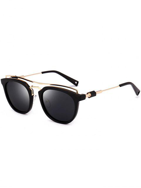 Gafas de sol Metallic Full Frame Crossbar - Negro  Mobile