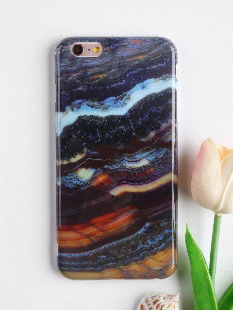buy Stone Pattern Mobile Phone Case For Iphone - COLORMIX FOR IPHONE 6 PLUS / 6S PLUS Mobile