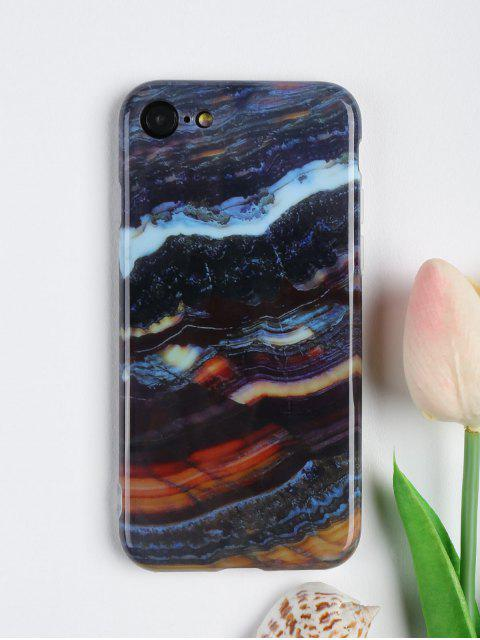 womens Stone Pattern Mobile Phone Case For Iphone - COLORMIX FOR IPHONE 7 Mobile