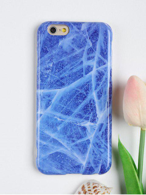 women's Stone Pattern Phone Case For Iphone - BLUE FOR IPHONE 6 / 6S Mobile