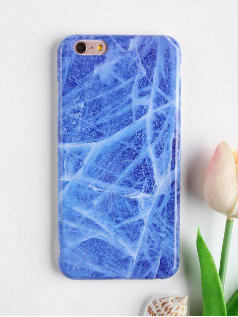 Stein Muster Telefon Fall für Iphone - Blau FÜR IPHONE 6 PLUS / 6S PLUS Mobile
