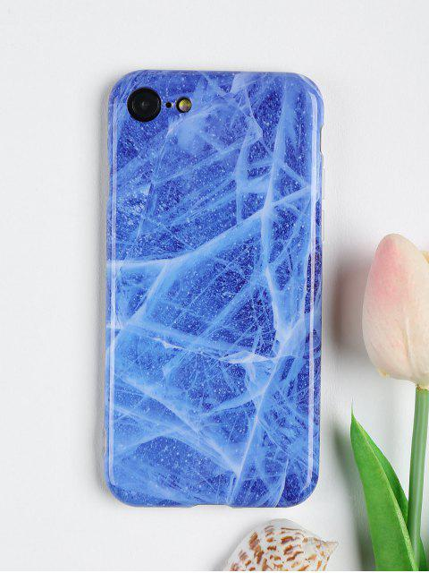 lady Stone Pattern Phone Case For Iphone - BLUE FOR IPHONE 7 Mobile