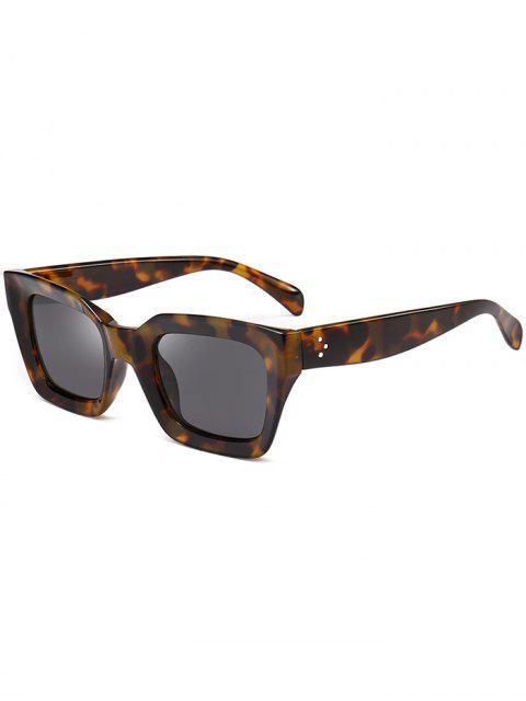 buy UV Protection Full Frame Square Sunglasses - GRAY  Mobile