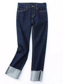 Calça De Lapis De Manga Fraca - Jeans Azul S