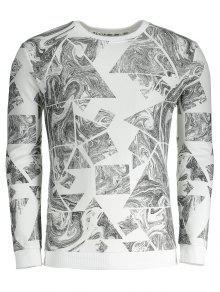 Del La Para 243;n 3xl De Extracto Blanco Impresi Hombre Camiseta BYSpqx6w