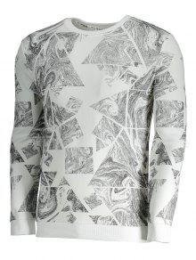 Hombre Extracto 243;n Impresi Camiseta Del 3xl Blanco La De Para q0XxwxgS