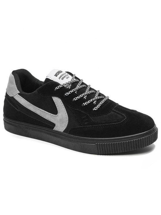 حذاء تزلج بلونين للرجال - أسود 40
