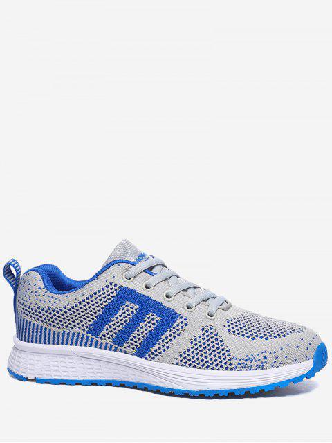 Chaussures athlétiques en couleur contrastante - Royal 37 Mobile