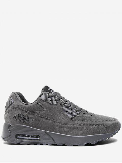 Chaussures à lacets en dentelle en dentelle - gris 42 Mobile