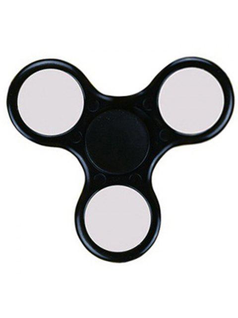 Пластиковый спиннер  игрушка для снятия стресса - Чёрный  Mobile