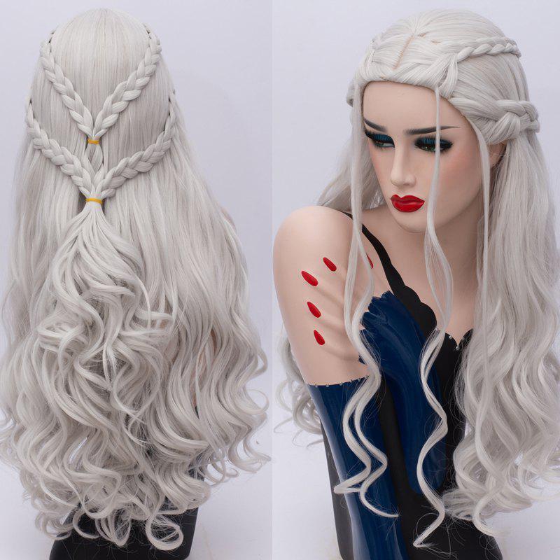 Long Braids Wavy Game of Thrones Daenerys Targaryen Cosplay Synthetic Wig 227072401