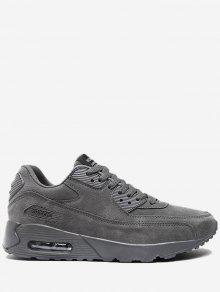 حذاء رياضي بأربطة - رمادي 42