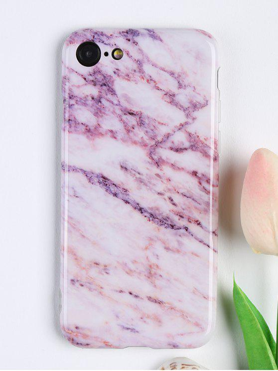 affordable Marble Pattern Soft Cell Phone Cover For Iphone - PINK FOR IPHONE 7