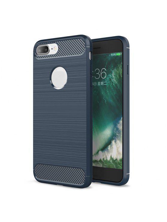 Soft Phone Case para Iphone - Cadetblue Para iPhone 8 Plus