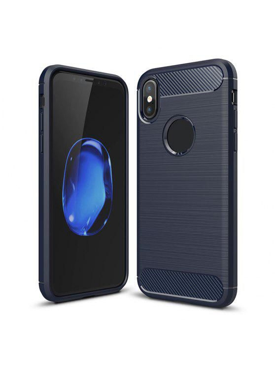 Soft Phone Case para Iphone - Cadetblue Para iPhone X
