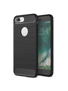 Soft Phone Case For Iphone - Black For Iphone 8 Plus