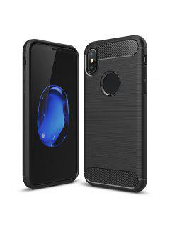 Soft Phone Case For Iphone - Black For Iphone X