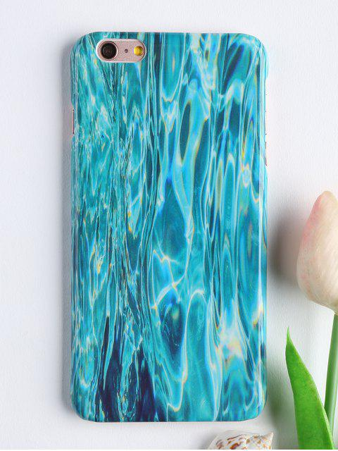 shop Patterned Soft Phone Case For Iphone - GREEN FOR IPHONE 6 PLUS / 6S PLUS Mobile