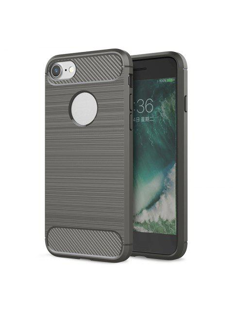 online Soft Phone Case For Iphone - GRAY FOR IPHONE 8 Mobile
