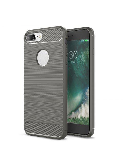 Weiche Handytasche für Iphone - Grau FOR IPHONE 8 PLUS Mobile