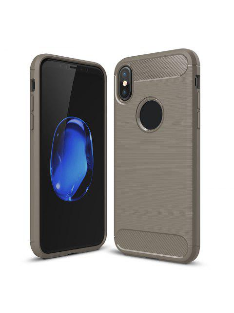 hot Soft Phone Case For Iphone - GRAY FOR IPHONE X Mobile