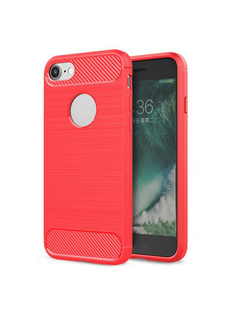 outfit Soft Phone Case For Iphone - RED FOR IPHONE 8 Mobile