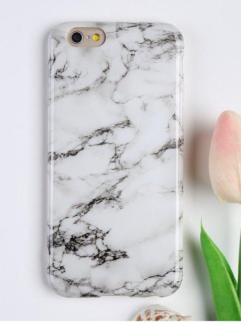 Marmor-Muster-weiche Telefon-Abdeckung für Iphone - Weiß FÜR  IPHONE 6 Mobile