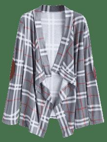 Blusa S Atado Codificados Comprobado Arco Codos Patched pIYqfw