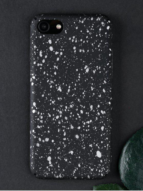 Starry Sky Pattern Phone Case para Iphone - Branco de prata Para iPhone 7/8