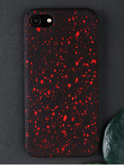 fashion Starry Sky Pattern Phone Case For Iphone - BRIGHT RED FOR IPHONE 7/8 Mobile