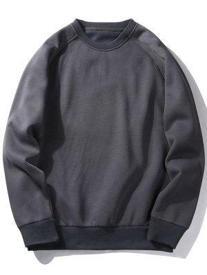 Sweat-shirt Ras du Cou en Molleton