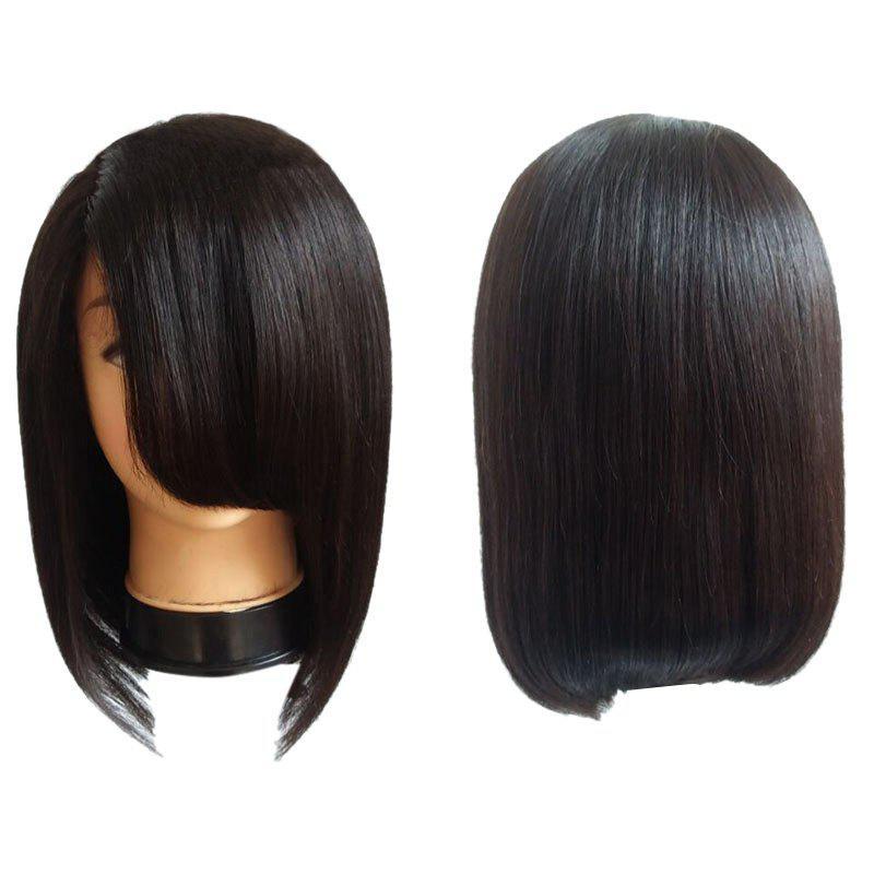Medium Side Bang Straight Bob Synthetic Wig 229858301