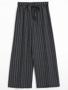 Pantalones Anchos De Correas - Raya