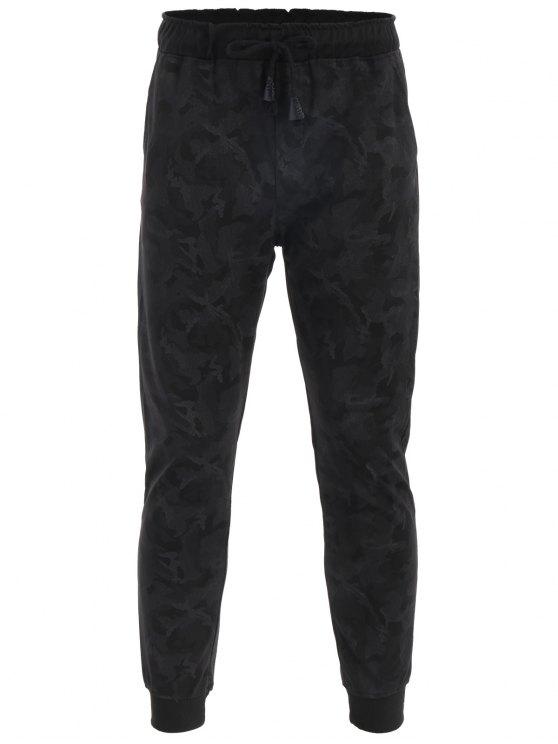 Pantaloni di Jogger da stampa Camo Drawstring - ACU Camouflage 4XL