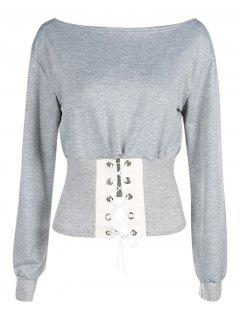 Sweat à Capuche - Gris S