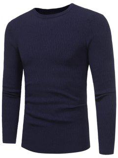 Jersey De Cuello Alto Para Mujer - Azul Purpúreo Xl